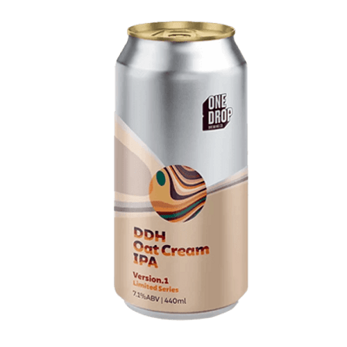 One Drop DDH Oat Cream IPA