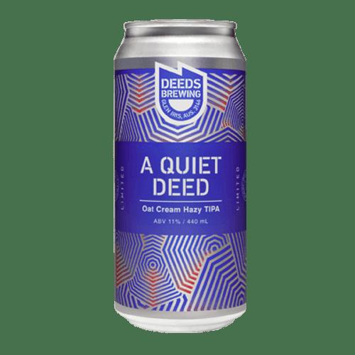 Quiet Deeds A Quiet Deed Oat Cream Hazy TIPA