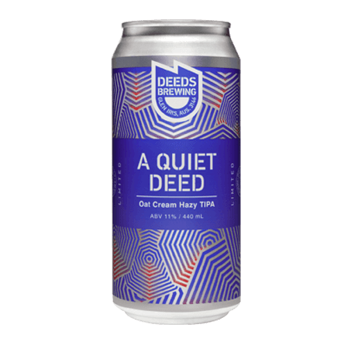 Deeds A Quiet Deed Oat Cream Hazy TIPA