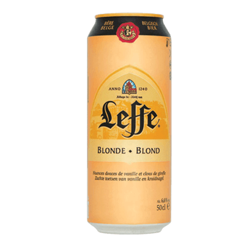 Leffe Blonde 500ml Can