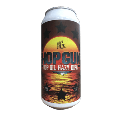 Deep Creek Hop Gun Hop Oil Hazy DIPA
