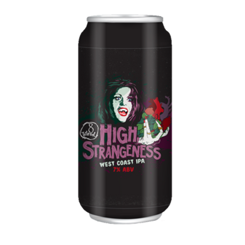 8 Wired High Strangeness West Coast IPA