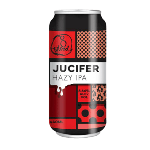 8 Wired Jucifer Hazy IPA