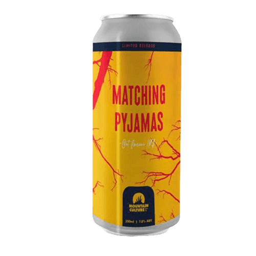 Mountain Culture Matching Pyjamas Oat Cream IPA