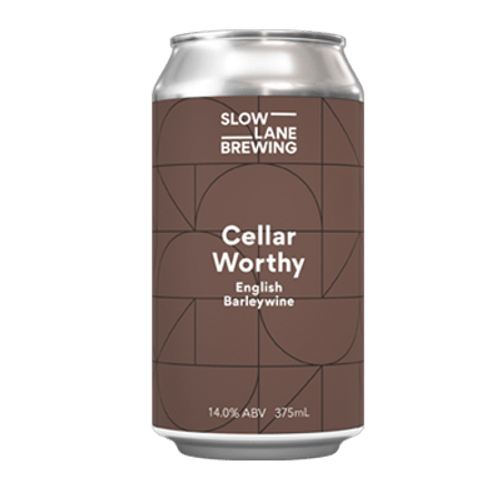 Slow Lane Cellar Worthy English Barleywine