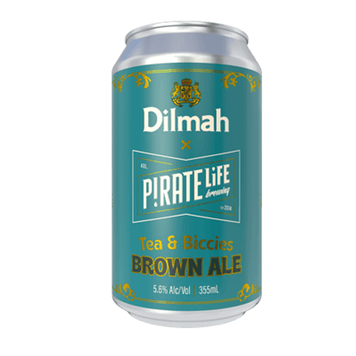 Pirate Life Dilmah Tea & Biccies Brown Ale