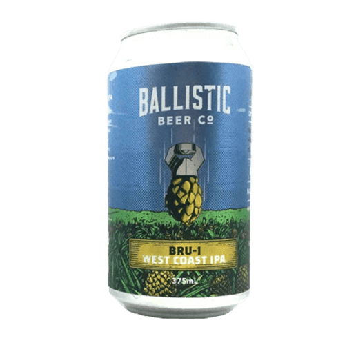 Ballistic Bru-1 West Coast IPA
