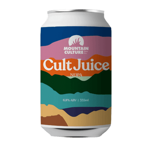 Mountain Culture Cult Juice NEIPA 375ml Can