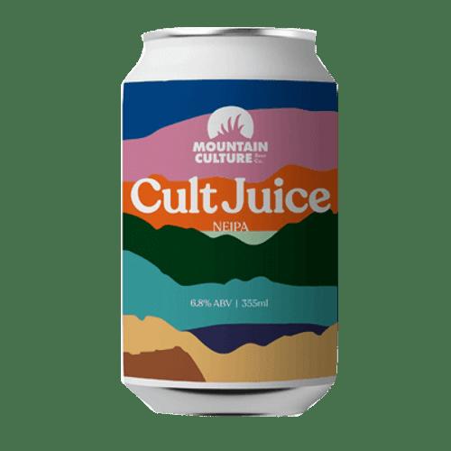 Mountain Culture Cult Juice NEIPA 375ml Can