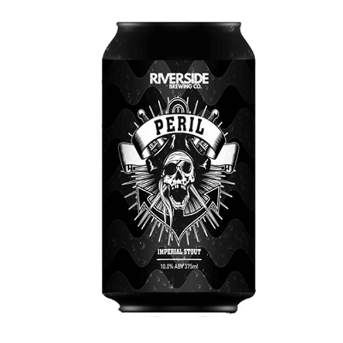 Riverside Black Peril Imperial Stout 375ml Can