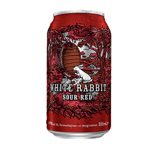 White Rabbit Sour Red Ale 355ml Can