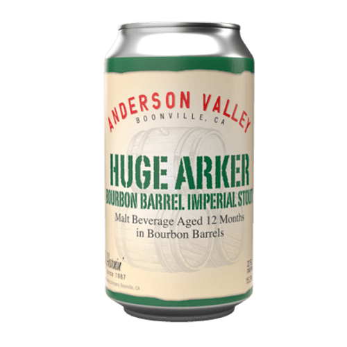 Anderson Valley Huge Arker Bourbon Barrel Imperial Stout