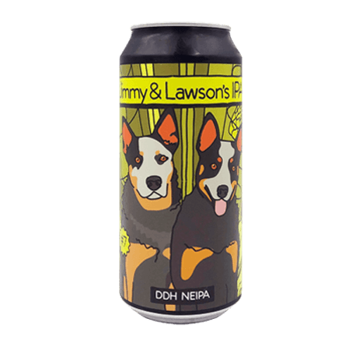 Moon Dog Jimmy & Lawson's IPA NEIPA