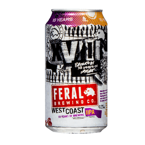 Feral Birthday West Coast 18 Years IIPA