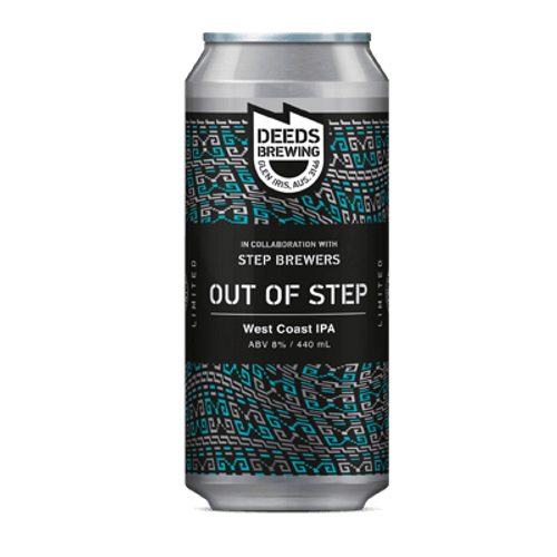 Quiet Deeds x Step Brewers Out of Step West Coast IPA