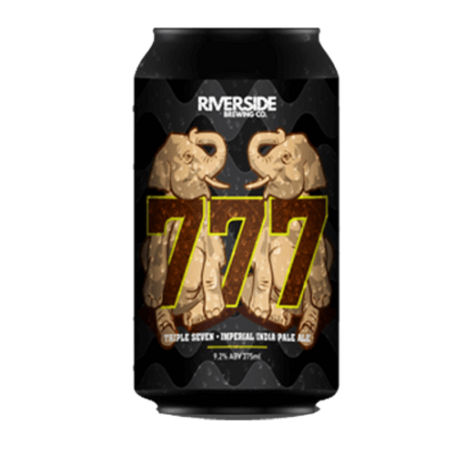 Riverside 777 Imperial IPA 375ml Can