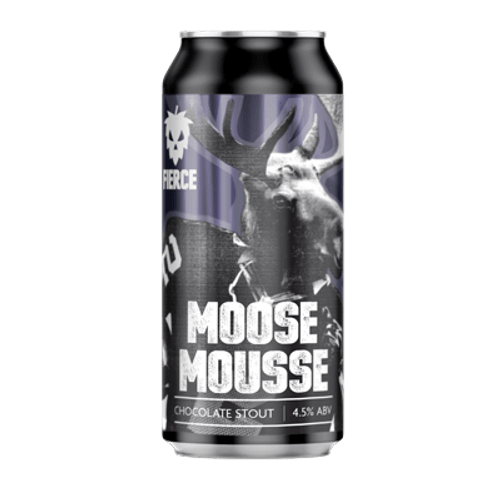 Fierce Moose Mousse Chocolate Stout 440ml Can