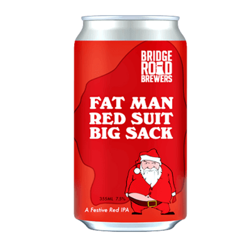 Bridge Road Fat Man Red Suit Big Sack 355ml Can