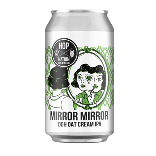 Hop Nation Mirror Mirror DDH Oat Cream IPA