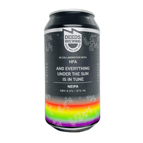 Deeds And Everything Under the Sun Is In Tune NEIPA