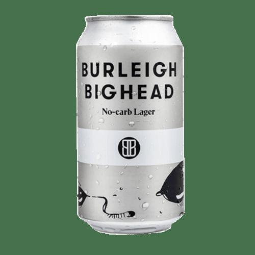Burleigh Bighead Lager 375ml Can