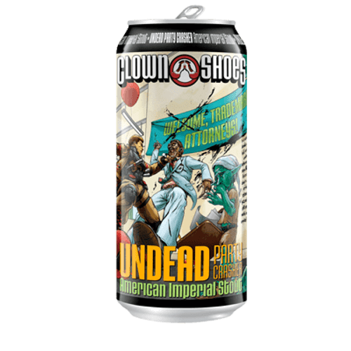 Clown Shoes Undead Party Crasher Imperial Stout 473ml Can