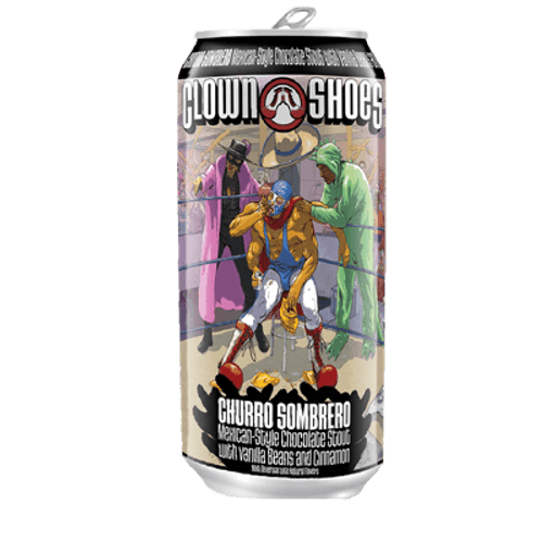 Clown Shoes Churro Sombrero Pastry Stout