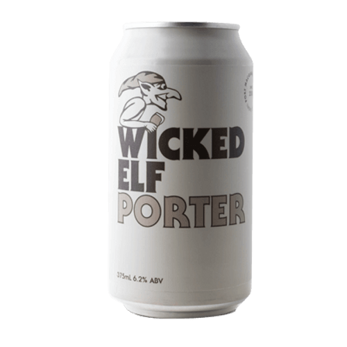 Wicked Elf Porter 375ml Can
