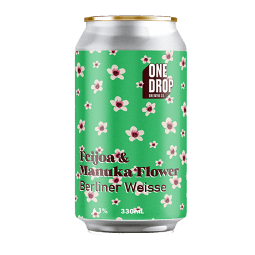 One Drop Feijoa & Manuka Flower Berliner Weisse