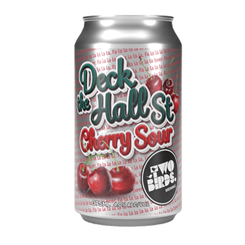 Two Birds Deck the Hall St Cherry Sour Ale