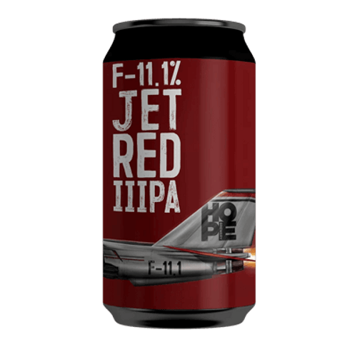 Hope F-11.1% Jet Red IIIPA