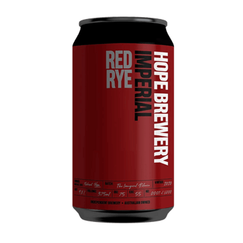 Hope Imperial Red Rye