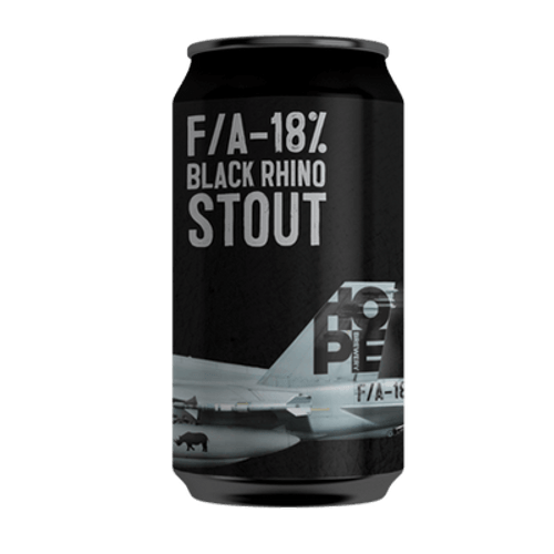 Hope F/A-18% Black Rhino Stout