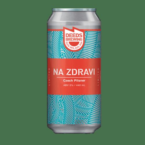 Deeds NA ZDRAVI Czech Pilsner
