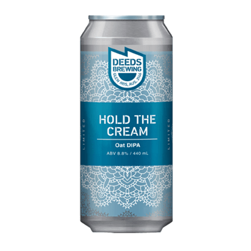 Deeds Hold The Cream Oat DIPA