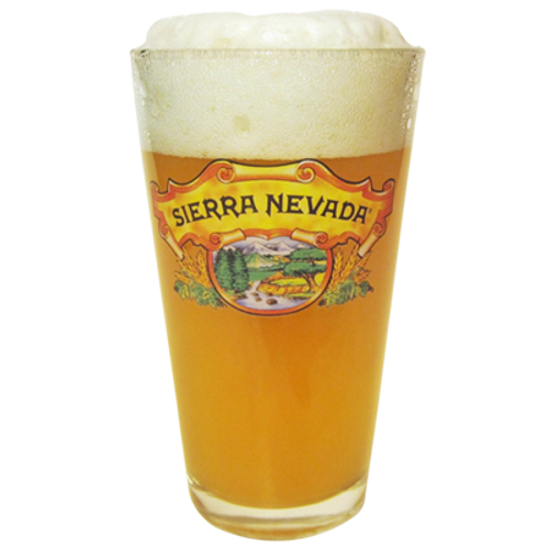 Sierra Nevada Pint Beer Glass