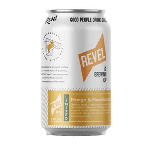 Revel Mango Macadamia Weiss Bar Sour