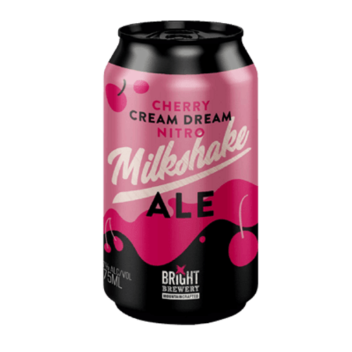 Bright Cherry Cream Dream Nitro Milkshake Ale