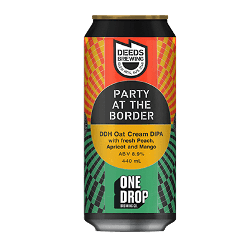 Deeds Party At the Border DDH Oat Cream DIPA