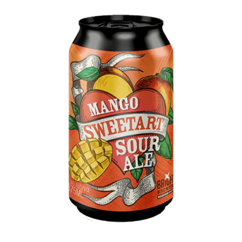 Bright Mango Sweetart Sour Ale