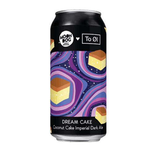 Moon Dog Dream Cake CoConut Imperial Dark Ale