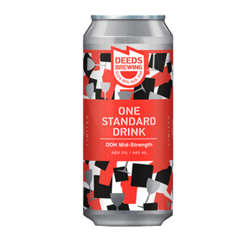 Deeds One Standard Drink DDH Pale Ale