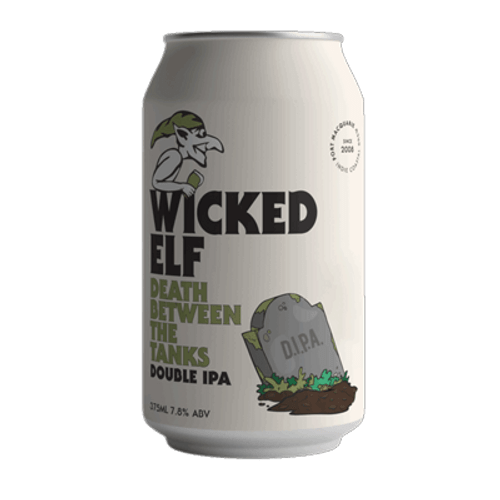 Wicked Elf Death Between The Tanks Double IPA 375ml Can