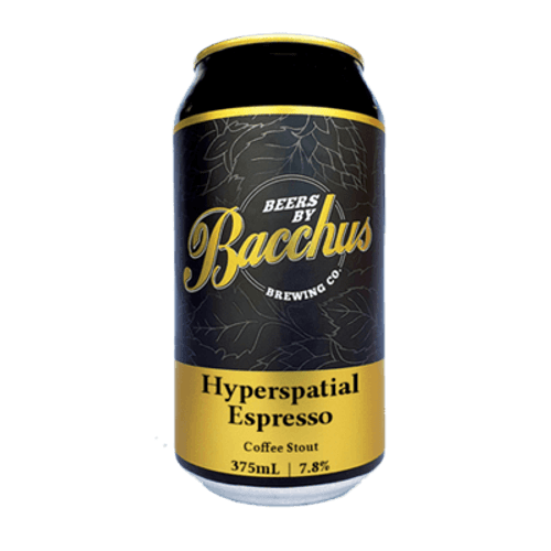 Bacchus Hyperspatial Espresso Stout 375ml Can