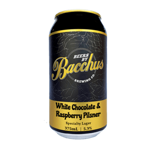 Bacchus White Chocolate Raspberry Pils 375ml Can