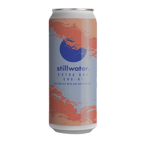 Stillwater Extra Dry Chu-Hi With Red Grapefruit