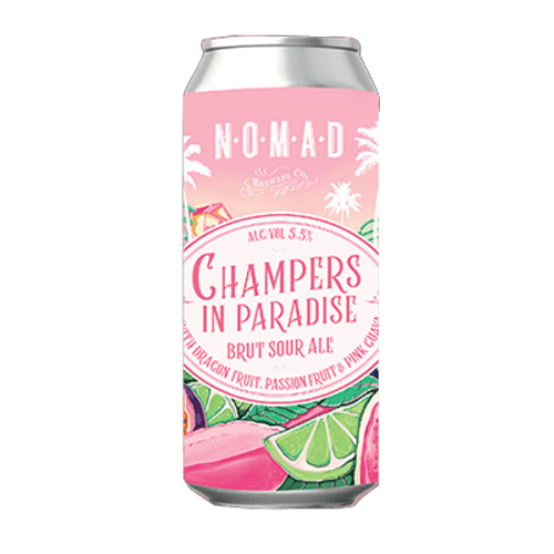 Nomad Champers in Paradise Sour IPA