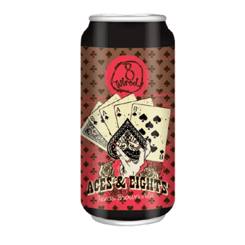 8 Wired Aces And Eights Texas Brown Ale