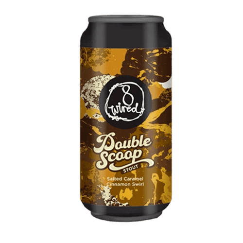 8 Wired Double Scoop Salted Caramel Cinnamon Swirl Stout