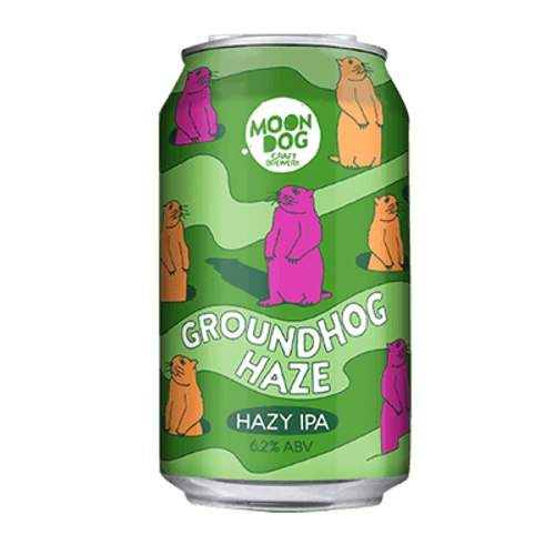 Moon Dog Groundhog Haze Hazy IPA